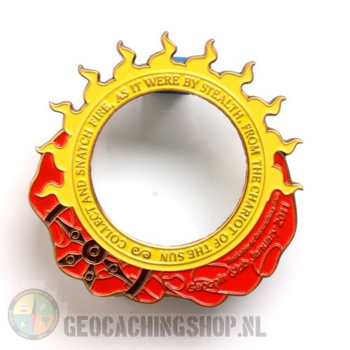 The Orb of the Sun Geocoin