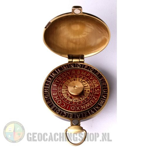 Pocket decoder antique bronze - Red - XLE