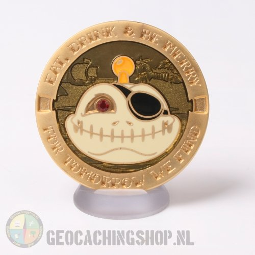 Signal Pirate geocoin