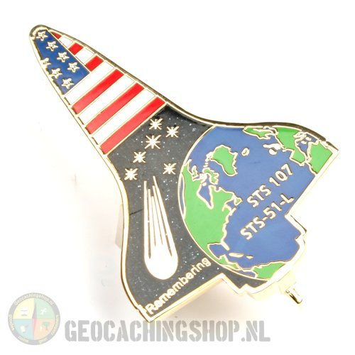 Space Shuttle Geocoin