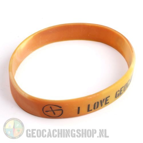 I Love Geocaching armbandje