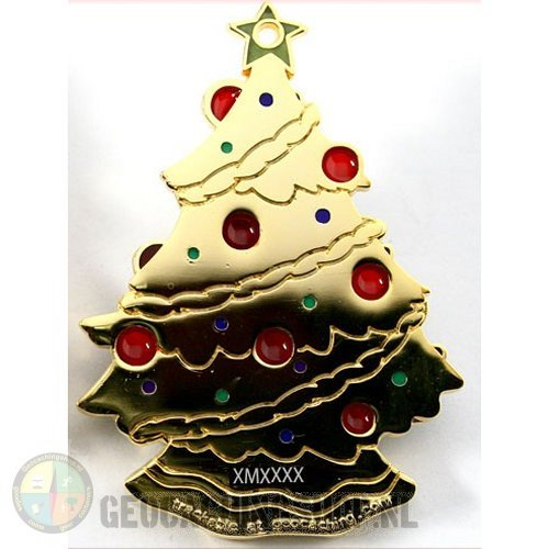Christmas Tree Geocoin