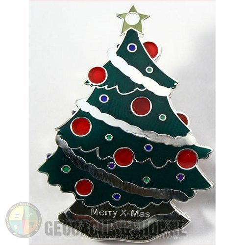 Kerstboom Geocoin