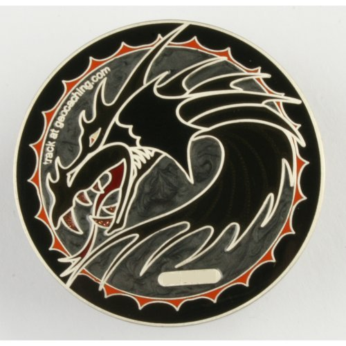 Dragon tails Geocoin