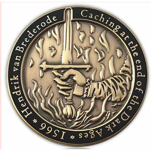Medieval Caching Geocoin